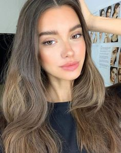 Pretty Girls with Natural Makeup Idea - Knitters Beauty Make-up, Beauty Hacks, Hair Beauty, Asian Beauty, No Make Up Make Up Look, How To Make, Maquillage Goth, Natural Makeup Looks, Natural Summer Makeup