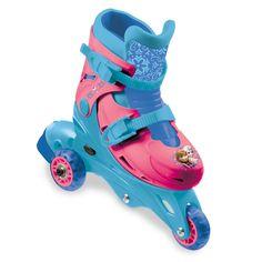2d0e8d0ea8f Leren inline skaten met deze Disney Frozen tri inlineskates/skeelers. Ze  zijn verstelbaar in