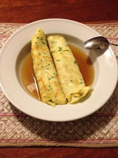 crespelle in brodo project on Craftsy.com
