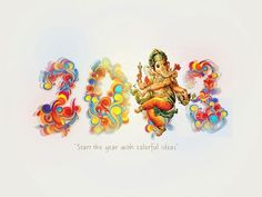 i welcome 2013 with courage, with love, with light, with Ganesha the remover of obstacles.