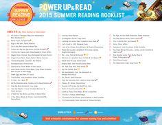 2015 Summer Reading Challenge Booklist - Ages 3-5. #summerreading