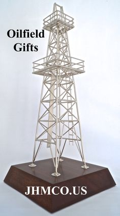 Delicieux Oilfield Models Derrick For Oil Well Drilling Chrome Plated Christmas Gift  For Oil And Gas Industry. Oil And GasOffice DecorationsDrilling ...
