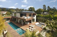 #LEED Platinum Beachfront Home | Cool Houses Daily