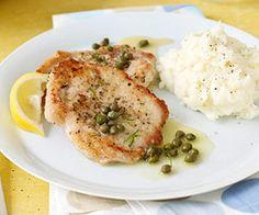 Pork Piccata (via Parents.com)