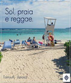 No #Caribe é possível conhecer diversas cidades paradisíacas, incluindo #Falmouth na #Jamaica.