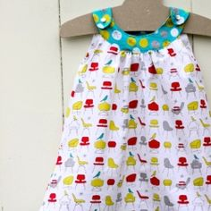 Download the free pattern from Prudent Baby and make this snappy toddler dress or top!