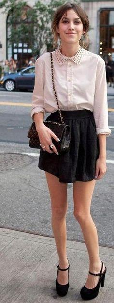 Street Style Model Alexa Chung
