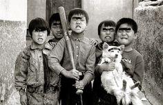 사진작가 김기찬 - 골목안 풍경 ,  1988