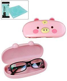 JAVOedge Hard Shell Cute Cartoon Pig Face Eyeglass Case and Bonus Free Soft Microfiber Lens Cleaning Cloth JAVOedge http://www.amazon.com/dp/B00JRKUIHY/ref=cm_sw_r_pi_dp_R713ub1WVRBMX