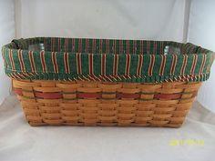 Vintage Christmas Basket