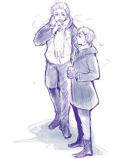 Hetalia (ヘタリア) - Denmark x Norway (DenNor) (デンノル) -「あんこログ(腐)」/「山崎」の漫画 [pixiv]