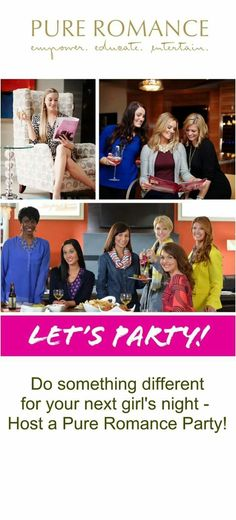 Are you ready to host a party? Message me today at prbycassia@gmail.com or follow me on Facebook at Pure Romance by Cassia Ashton