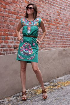 787a0cc8201 How to wear alter mexican dress.