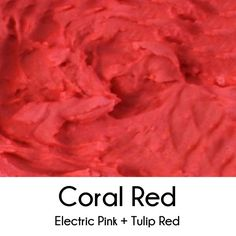Cookies and Color: Reds
