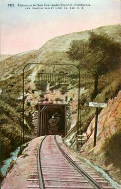 Hidden beneath the Interstate 5-Highway 14 interchange in the Newhall Pass lies a tunnel portal, one of the great historic treasures of Los Angeles. On September 5, 1876, Charles Crocker drove in a golden spike at Lang Station in Soledad Canyon to celebrate the completion of the Southern Pacific Railroad in California. This monumental day would not have been possible were it not for the completion of the San Fernando Railroad Tunnel by a crew of about 1,000 Chinese workers (and 500 others)…