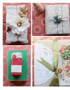 holiday wrapping ideas ... gatherings