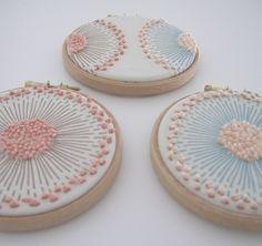Dandelion French Knot Embroidery - Yumiko Higuchi