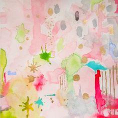 """Pink Abstract Art Print, """"Celestial Pink"""", Wall Decor, Fine Art"""