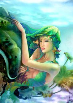 Earth Goddesses by ~ninejear on deviantART