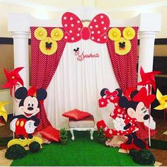 VK is the largest European social network with more than 100 million active users. Minnie Mouse Birthday Decorations, Minnie Mouse Theme Party, Fiesta Mickey Mouse, Mickey Mouse Clubhouse Birthday Party, Red Minnie Mouse, Mickey Party, Mickey Mouse Birthday, Red Birthday Party, Baby