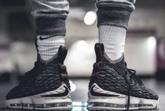 Nike Lebron 15 'Pride of Ohio' - 2017 (by Tresor. – Nike Lebron 15 'Pride of Ohio' - 2017 (by Tresor Temuni) Toms Shoes For Men, Basketball Sneakers, Sneakers Vans, Air Max Sneakers, Nike Shoes, Nike Lebron, Lebron 15 Shoes, Best Walking Shoes, Walking Boots