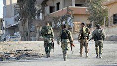 Το Κουτσαβάκι: . Ο Συριακός στρατός άρχισε να καθαρίζει το μεγαλύ...