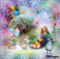 Vintage Have A Very Happy Easter