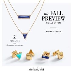 Mark your calendars! These 2015 Fall Preview pieces will be available to shop soon! #sdjoy