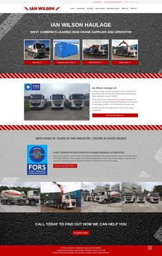 SEO driven, this website was put together based on researched page structure and content to really focus the final design on the relevant search terms for this haulage company. Cumbria, Carlisle, Website, 40 Years, Seo, Light Bulb, How To Find Out, Web Design, Content