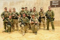 Members of the Canadian Special Operations Regiment - CQB training