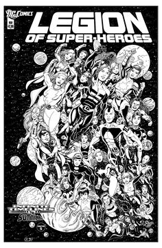 Legion of Superheroes Homage to Tales Of The Green Lantern Corps Issue 3 ( Infinite Timelines : The Summoning - Chapter 5 ), in Aidan (Re-Legion )Lacy's Re-Legion : The Infinite Timelines Series Comic Art Gallery Room - 998154