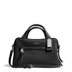 Coach BLEECKER SMALL COBBLESTONE SATCHEL IN PEBBLED LEATHER