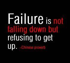 Always get back up, no matter what! #FitnessMotivation