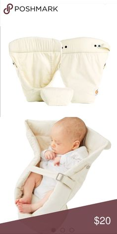 82997b2d2f1 Shop Kids  ergo baby Cream size OSBB Accessories at a discounted price at  Poshmark. Description  Infant Insert design for ergo baby carrier.
