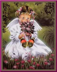 rose and angels background | Angel And Butterfly,animated - Angels Photo (10308777) - Fanpop ...