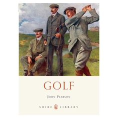 This title reveals the history of golf, from its invention in Scotland and patronage by Stuart monarchs, through its rising popularity in Victorian and Golf Knickers, Vintage Golf, Golf Tips For Beginners, Play Golf, Golf Ball, Vintage Posters, Golf Clubs, Golf Courses, This Book