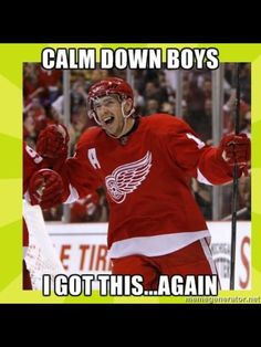 The one and only Pavel Datsyuk... ...