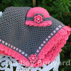 Blanket Crochet for baby Granny Square ~ YARN CROCHET