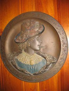 Victorian Bronze Relief Sculpture