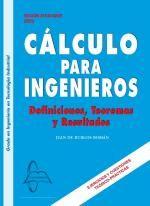 Ingebook - CÁLCULO PARA INGENIEROS - Definiciones, Teoremas y Resultados