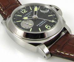 Panerai GMT Luminor Chronometer (OP VIII (base ETA Valjoux 7750-P1)), Ref. PAM 88, N series
