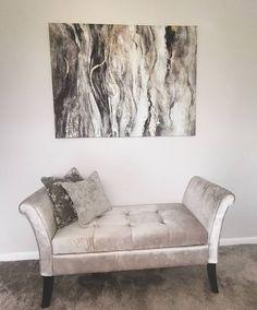 New bedroom bits 😻 . Sweet Home, Love Seat, Couch, Interior Design, Bedroom, Furniture, Instagram, Home Decor, Interiors