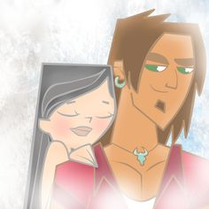 Fan Art of I want to be with you forever for fans of Total Drama Island.