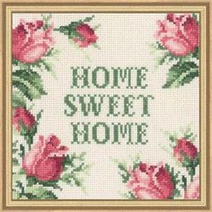 Permin® Home Sweet Home Counted Cross-Stitch Kit                                                                                                                                                                                 More