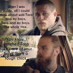 """Jax and Opie moment ❤ #@truelove_lives"