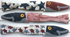 Coastal Decor Ideas, Nautical & Beach Decorating & Crafts: Nautical Red, White and Blue Decorations with a Patriotic Flair