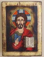 Jézus Pantokrátor/ megváltó/ ikon