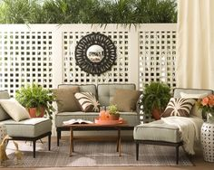 Lattice Screen Design, Pictures, Remodel, Decor and Ideas - page 5