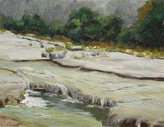 DPW Fine Art Friendly Auctions - Bull Creek Again by Jane Frederick