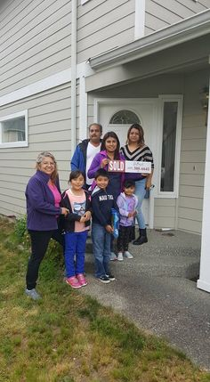 We are so excited to say congratulations to Irene and her family on her beautiful home purchase! Irene has rented for years and was turned down by many lenders... we met her at a home buyer class and we were able to refer her to a lender who said YES! With perseverance and determination, Irene is officially a happy homeowner!! NEVER GIVE UP on your dreams!  #HappyHomeOwner #NeverGiveUp #BuyingAHouse